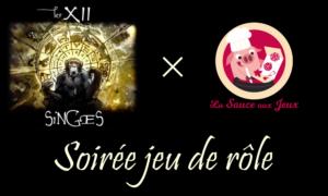 Soirée Jeux de Rôle en ligne x XII Singes @ Discord de la Sauce aux Jeux | Schiltigheim | Grand Est | France