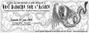 Nuit Blanche sur l'Alsace - 5ème Edition - Convention de JDR @ Fort Rapp Moltke de Reichstett | Reichstett | Grand Est | France