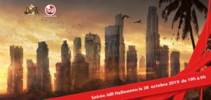 Soirée JDR ZCorps - Halloween @ Dooz Destroy Room