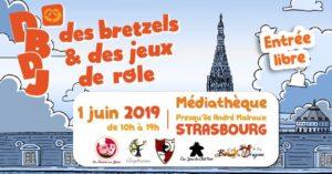 Des Bretzels et des Jeux de Rôle 2019 @ Salle de la Bourse | Soultz-les-Bains | Grand Est | France