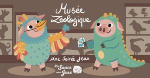 Soirée jeux au Musée Zoologique de Strasbourg @ Musée zoologique de Strasbourg | Strasbourg | Grand Est | France
