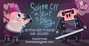 Soirée JDR Cyberpunk dans le cadre du Start To Play 2021 @ Discord du Start to play | Schiltigheim | Grand Est | France